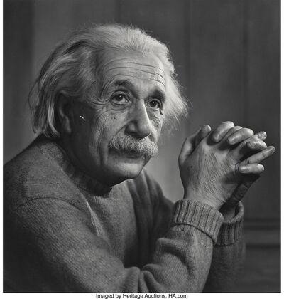 Yousuf Karsh, 'Albert Einstein', 1948