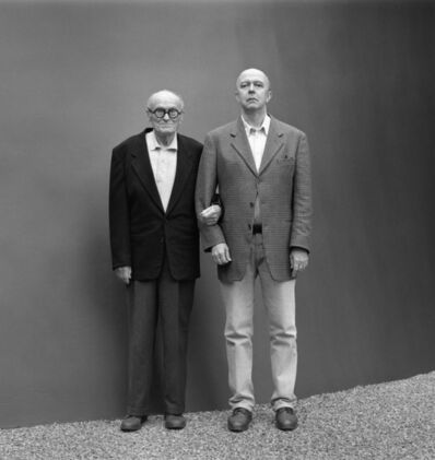 Mariana Cook, 'Philip Johnson and David Whitney, New Canaan, Connecticut, November 1995'