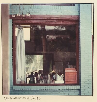Robert Rauschenberg, 'Study for Chinese Summerhall (Blue Window)', 1982
