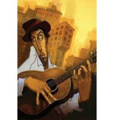 Justin Bua, 'El-Guitarrista', 2009