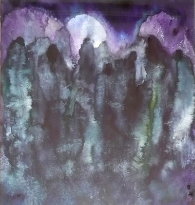 Herbert Beck, 'Apokalyptische Landschaft', ca. 2000
