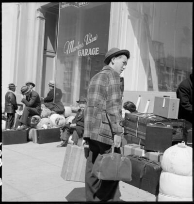 Dorothea Lange, 'Marine View, San Francisco', 1942