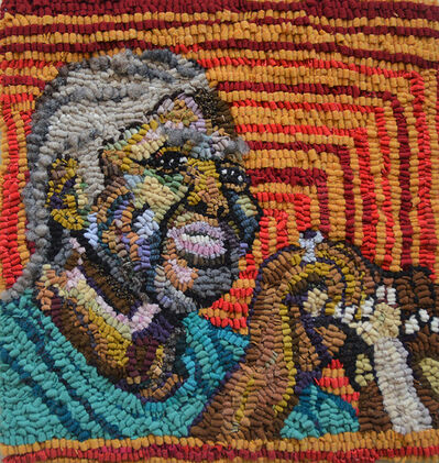 Mary Tooley Parker, 'Katie Mae Pettway, Gee's Bend Quilter', 2020