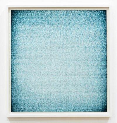 Ignacio Uriarte, 'Bucarest window (Green – Blue) ', 2019