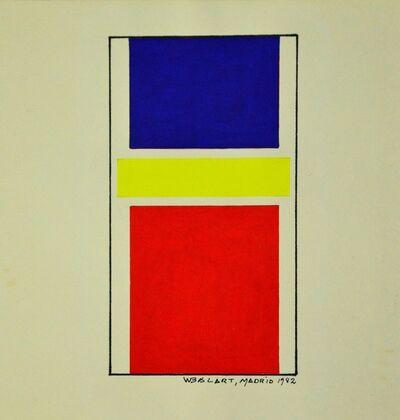 Waldo Balart, 'Amarillo en el centro', 1982
