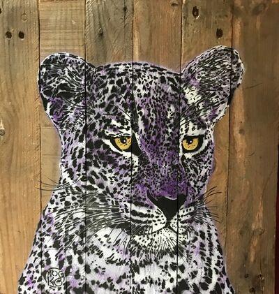 Mosko, 'Purple Panther', 2018