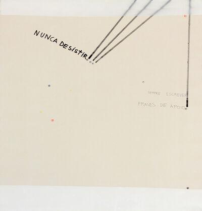 Gustavo Speridião, 'Nunca desistir', 2015