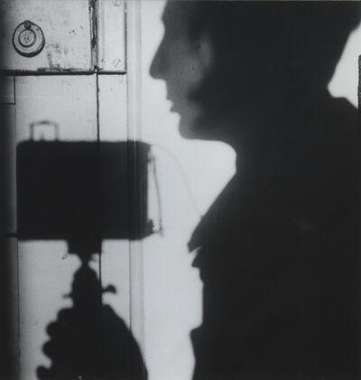André Kertész, 'Self Portrait, Paris 1927', 1970s gelatin silver print from a 1927 negative