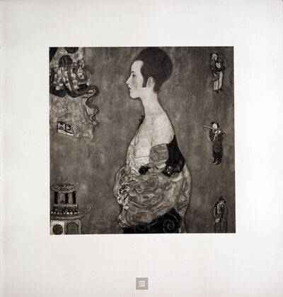 Gustav Klimt, 'Girl in Profile [Gustav Klimt An Aftermath]', 1931