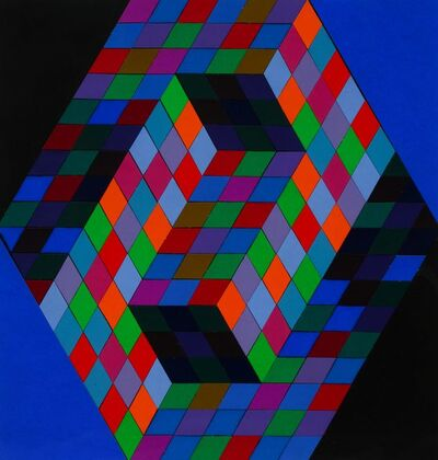 Victor Vasarely, 'Untitled (22 color study for poster), c. 1970'