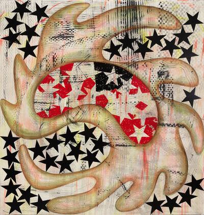 Charline von Heyl, 'Howl', 2015