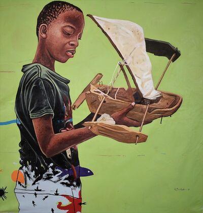 Kwesi Botchway, 'sailing dream', 2018