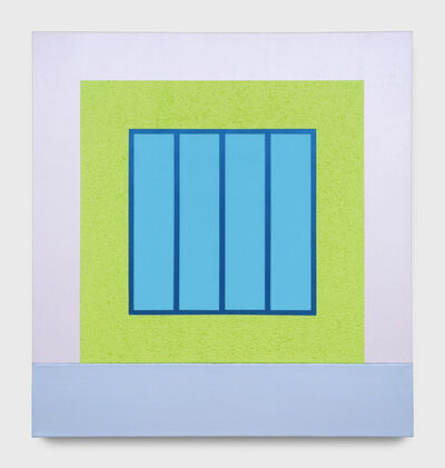 Peter Halley, 'Green Prison', 2001