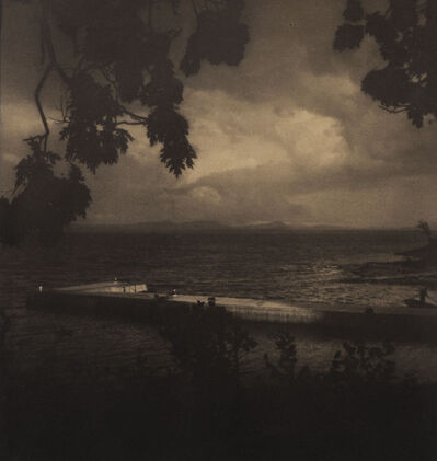 Edward Steichen, 'The Dock at Bouquet Lodge, Lake Champlain', 1910
