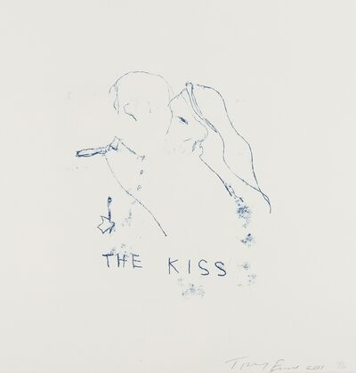 Tracey Emin, 'The Kiss', 2011