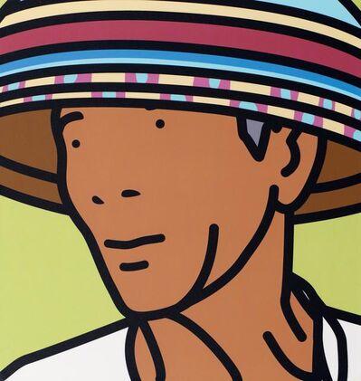 Julian Opie, 'Komang, beach vendor', 2002