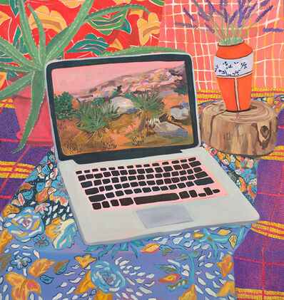 Anna Valdez, 'Laptop with Landscape', 2015