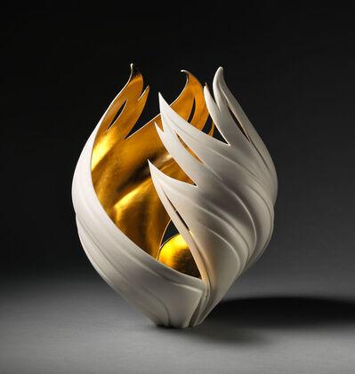 Jennifer McCurdy, 'Gilded Vortex Vessel', 2018