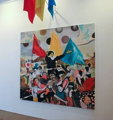 Yann Leto, 'Viva primary colours,viva!', 2014