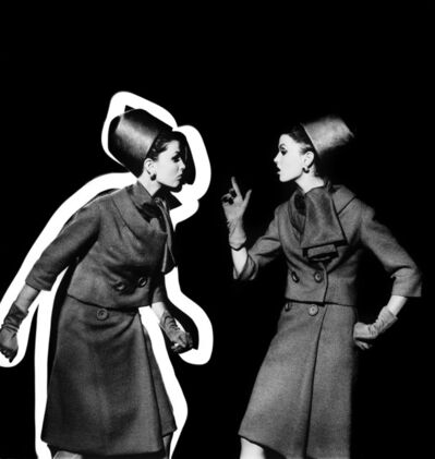 William Klein, 'Dorothy Arguing With Dorothy', 1962