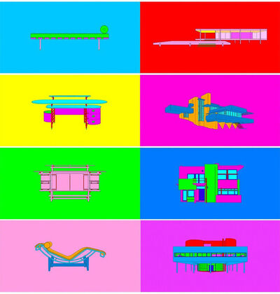 Michael Craig-Martin, 'Design and Architecture', 2017