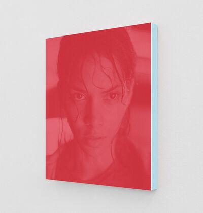 Daniel Handal, 'Halle Berry as Dr. Miranda Grey (Cardinal Red)', 2020