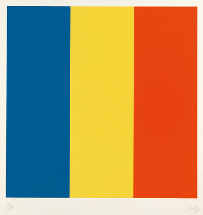 Ellsworth Kelly, 'Blue/Yellow/Red', 1992