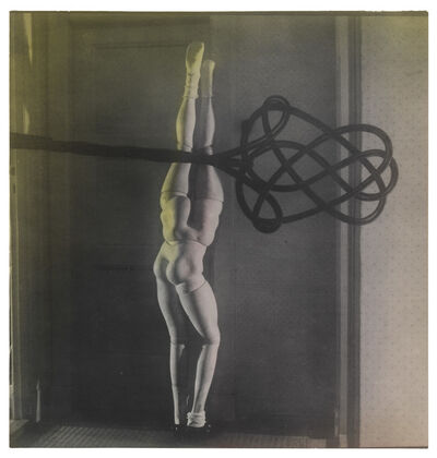 Hans Bellmer, 'La Poupée (with carpet beater)', 1937