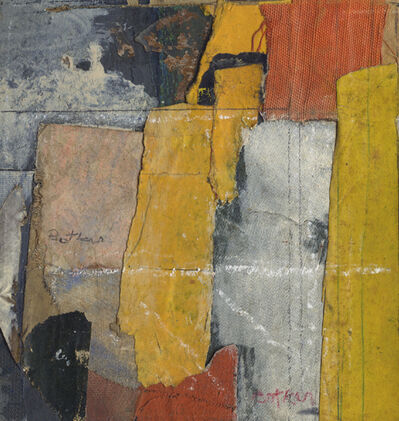 Henry Botkin, 'Yellow Center', 1962