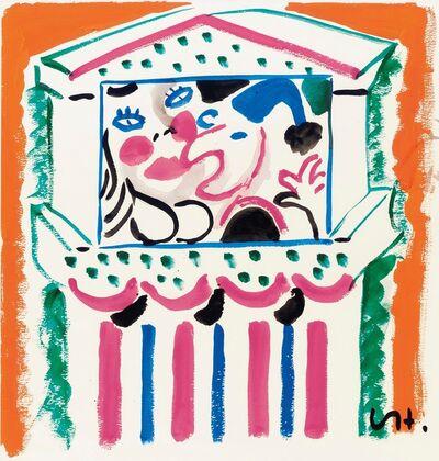 David Hockney, 'Punch and Judy IV', 1984