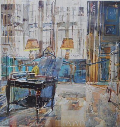 Alison Pullen, 'Leeds Castle, Turquoise Reception Room', 2020