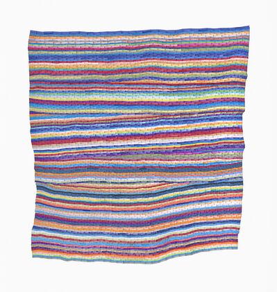 Carly Glovinski, 'The Second Vertical Rag Rug', 2017