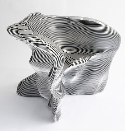 Mathias Bengtsson, 'Aluminum Spun Chair', 1999