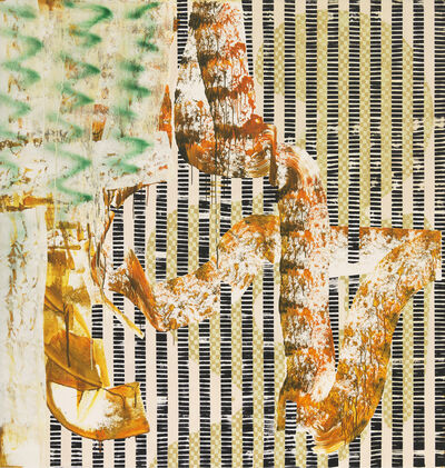 Charline von Heyl, 'Great Train Robbery', 2016