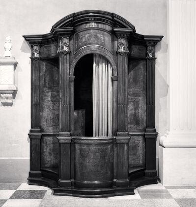 Michael Kenna, 'Confessional, Study 40, Chiesa Di Santa Maria Assunta Nella Cattedrale, Reggio Emilia, Italy', 2015