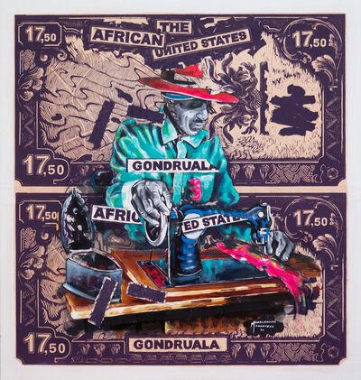 Mandla (Mandlenkosi) Mavengere, 'Knitting Dreams', 2021