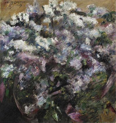 Lovis Corinth, 'White Lilacs', 1919
