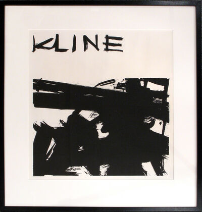 Franz Kline, 'Untitled (Sidney Janis Invitation)', 1958