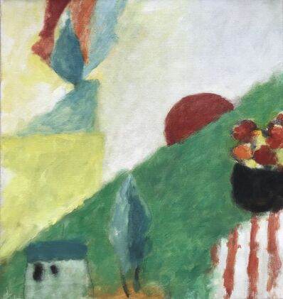 Eugène Brands, 'Landscape with rising sun', 1973