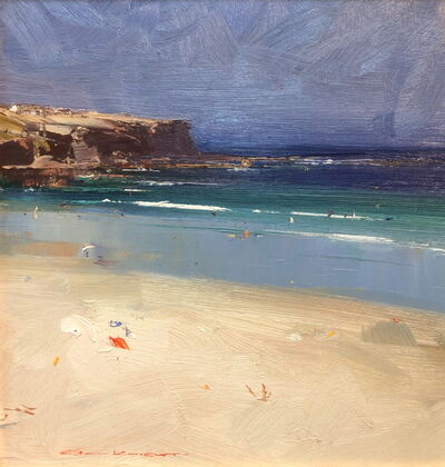 Ken Knight, 'Summer's Day, Bondi Beach', ca. 2019