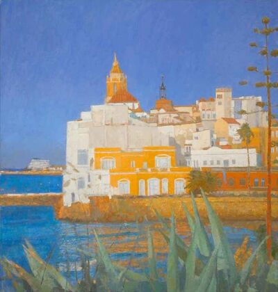 Nicholas Verrall, 'Summer in the Algarve', 2018