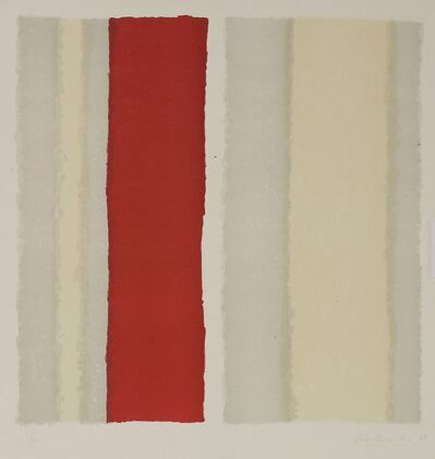 Yuko Shiraishi, 'Untitled (Red Stripe)', 1989