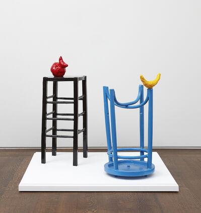 Joan Miró, 'Homme et femme dans la nuit', 1969
