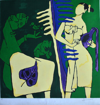 M. F. Husain, 'Untitled ', Ap