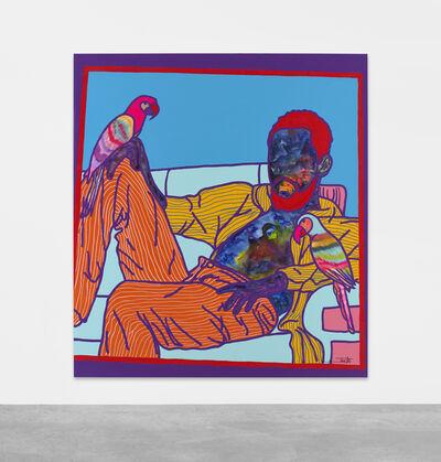 Ajarb Bernard Ategwa, 'My vision # Shatta wale', 2020