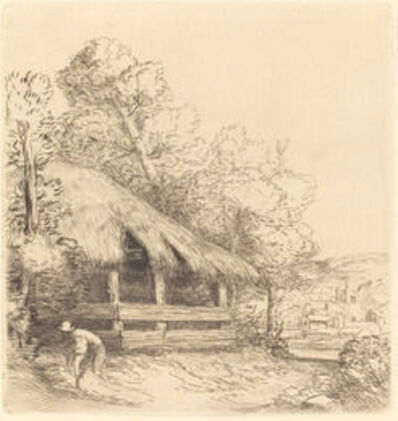 Alphonse Legros, 'Le petit hangar'