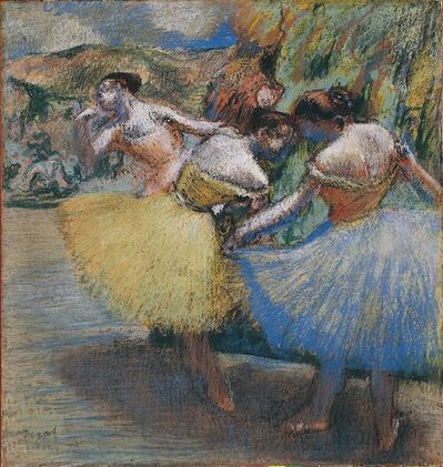 Edgar Degas, 'Three Dancers', ca. 1898