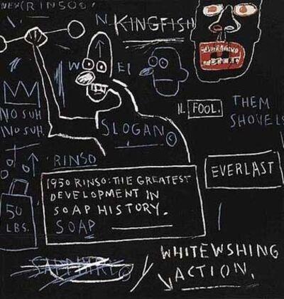 Jean-Michel Basquiat, 'Rinso', 1982/2001