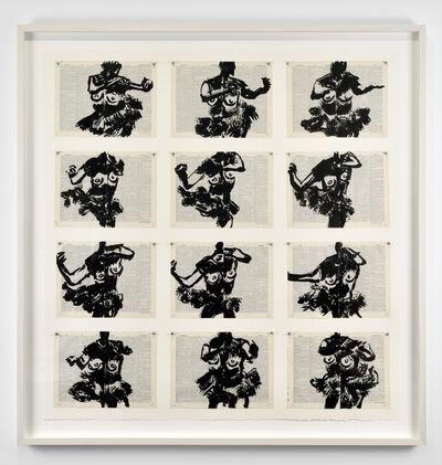 William Kentridge, 'Drawing for 'Lulu'', 2015