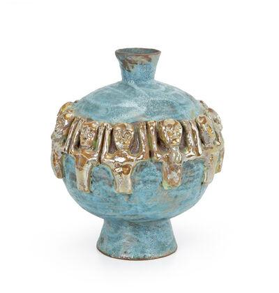Beatrice Wood, 'Figural vase'
